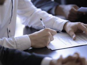 Einverständniserklärung Dokumentenversand