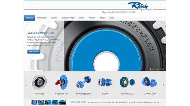 REICH-news Neuer Internet-auftritt Main