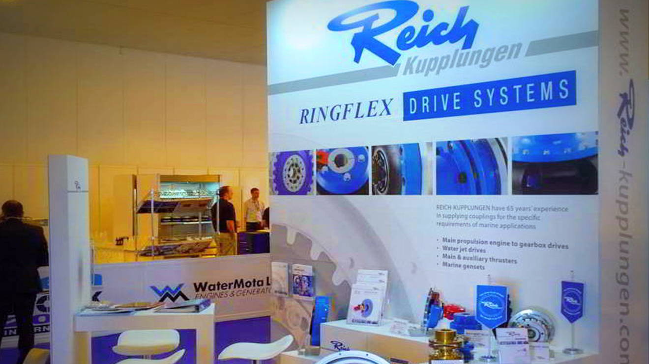 REICH-news Seawork International Ringflex Stellte Aus Main
