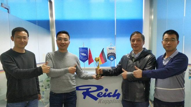 REICH-news Auszeichnung Als-Bester-Lieferant-Fuer-Reich-China Main